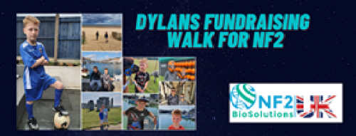 Dylan's Fundraising Walk for NF2 Biosolutions UK
