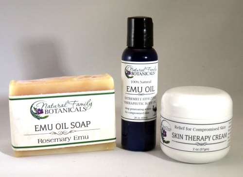 Emu Oil Skin Care Products