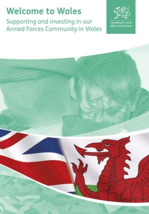 Welcome to Wales poster.