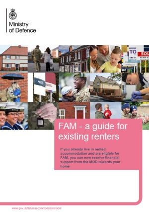 FAM guide front page.