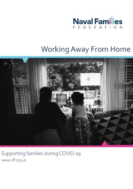 Working away from home poster