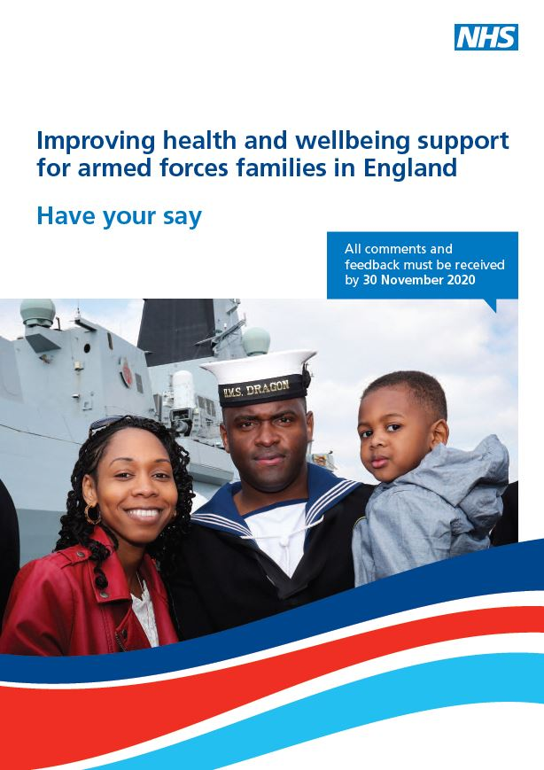 Front cover of the questionnaire