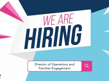 'We are hiring' poster