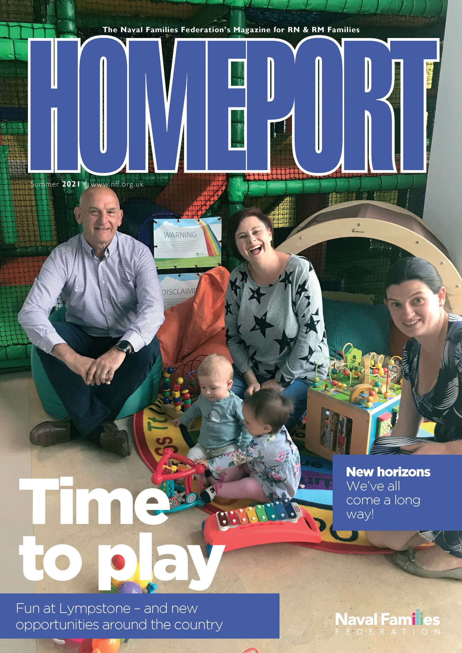 Homeport front cover (Summer 2021 edition)