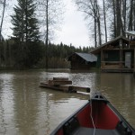 canoe trip around the hostel