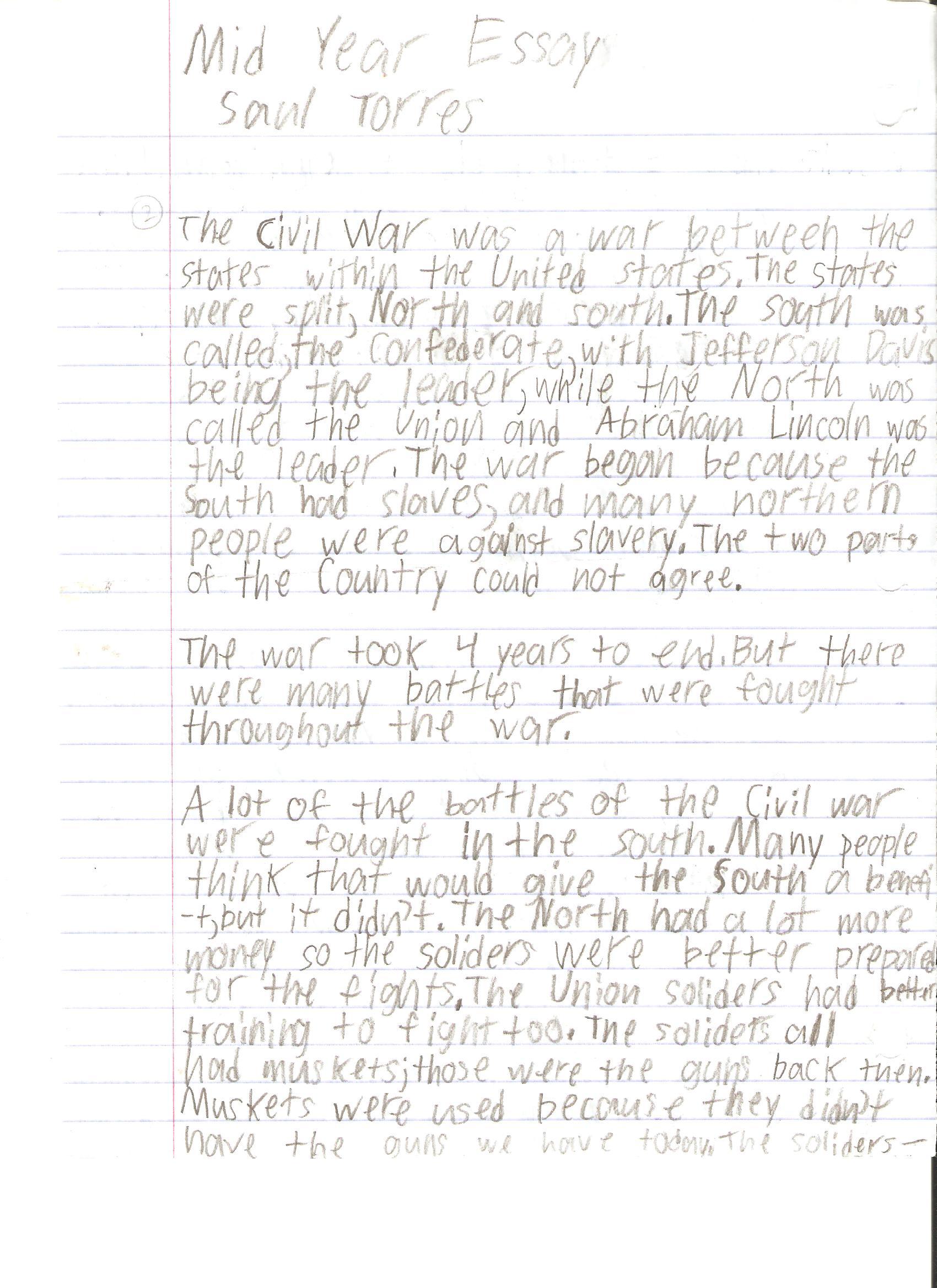 Rubric Essay Writing 6th Grade
