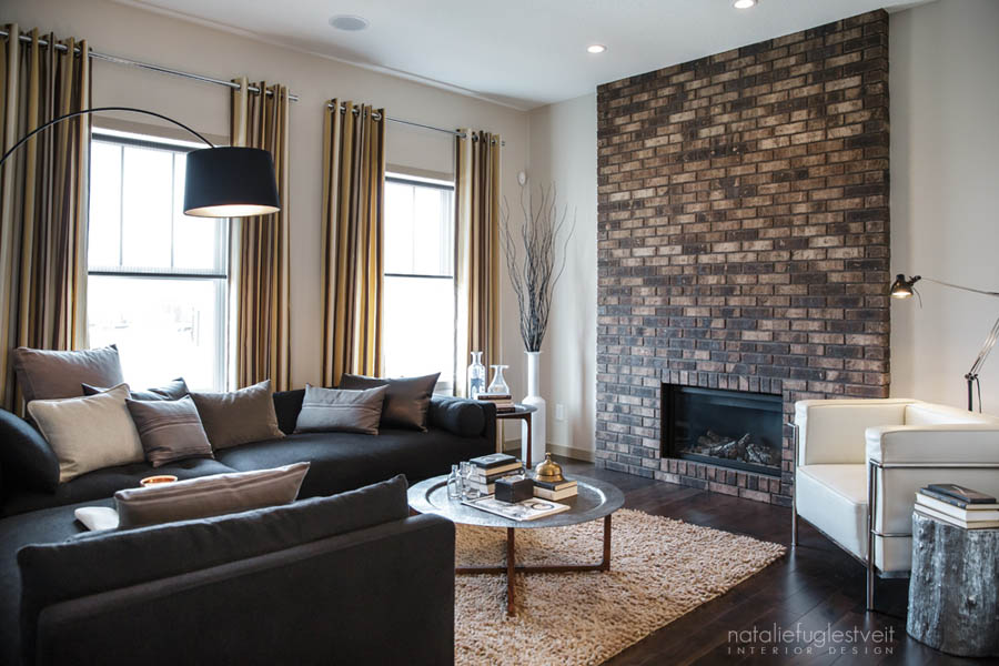 modern interior decorating ideas for living room 2 simple false ceiling designs in flats stripes brick metal industrial by calgary designer