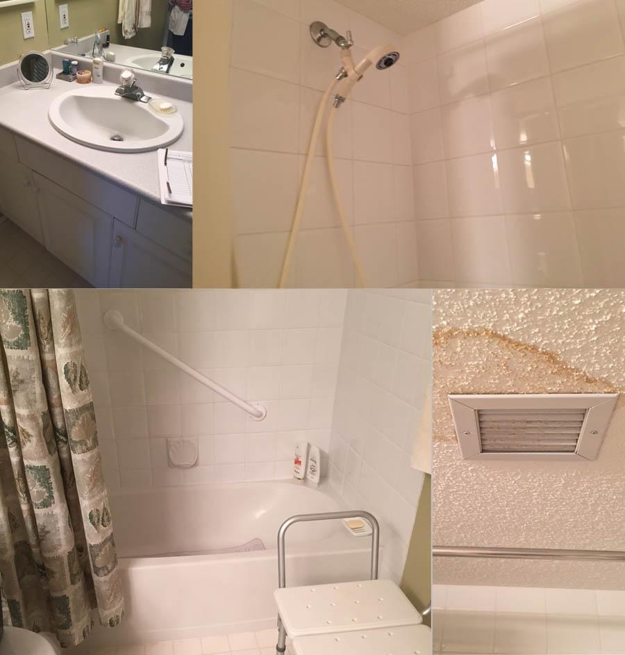 Seniors Friendly Bathroom Renovation  Before  After