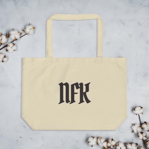 NFK Norfolk VA Tote Bag