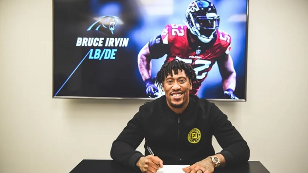Bruce Irvin (Foto: Carolina Panthers)