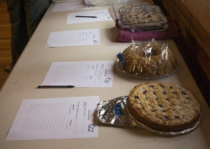Baked goods up for auction