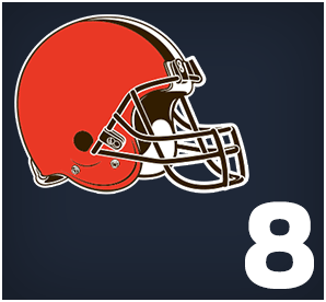Cleveland Browns : 08