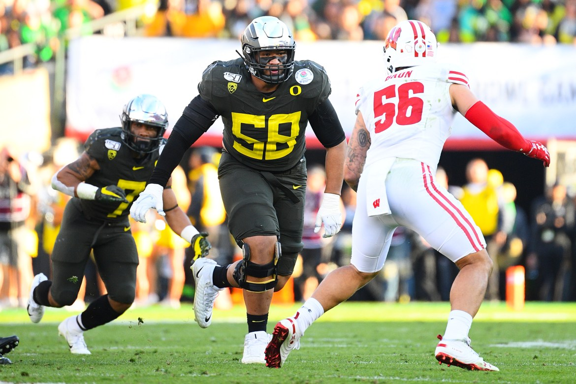 Top 5 draft prospect: offensive tackle-k