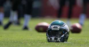 Eagles-Helmet-2 Eagles Waive S Tre Sullivan & DE Alex McCalister With Injury Settlements