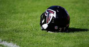 Falcons-Helmet Falcons Sign DB Jason Hall, Waive RB Terrence Magee