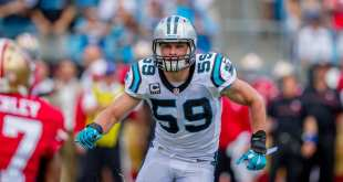 Luke-Kuechly NFL Notes: Jeff Fisher, Bears, Cardinals & Panthers
