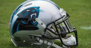 Panthers-Helmet-2 Panthers Sign OL Blaine Clausell To Practice Squad
