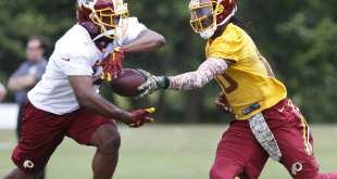 USATSI_8636388_168383805_lowres Redskins Waive RB Silas Redd After He's Reinstated From Suspension