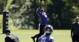 USATSI_9340621_168383805_lowres Ravens Waive WR Chris Matthews, Activate CB Maurice Canady From IR