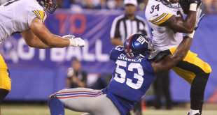 USATSI_10212787_168383805_lowres Giants Sign LB Deontae Skinner Off Raiders' PS, Place LB Nigel Harris On IR