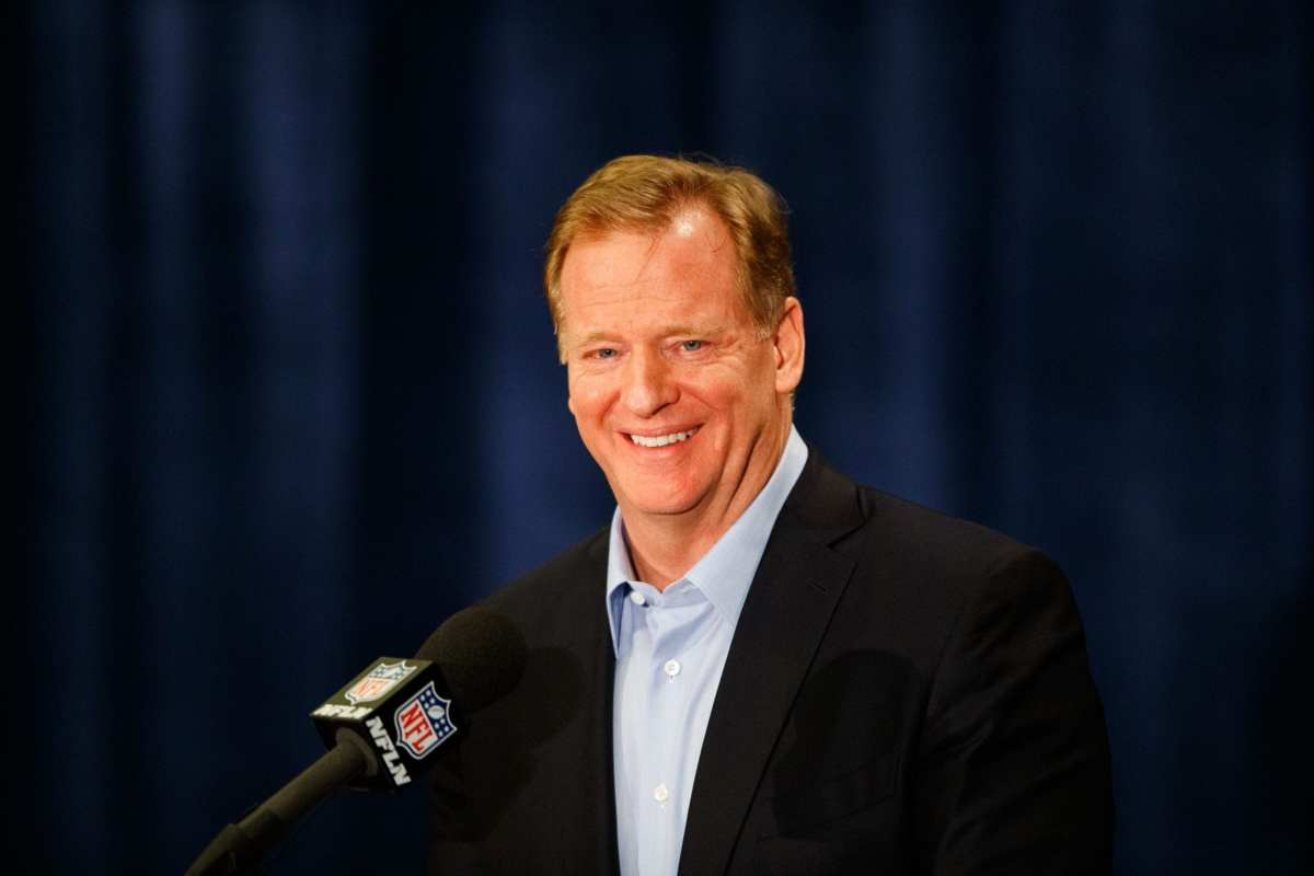 NFL Notes: Roger Goodell, Lions, Redskins