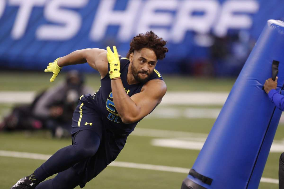 Patriots Rookie LB Harvey Langi Unlikely To Play Again This Season