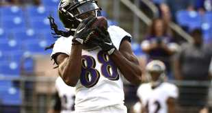 USATSI_10239900_168383805_lowres Ravens Promote WR Quincy Adeboyejo, Sign CB Robert Nelson To PS