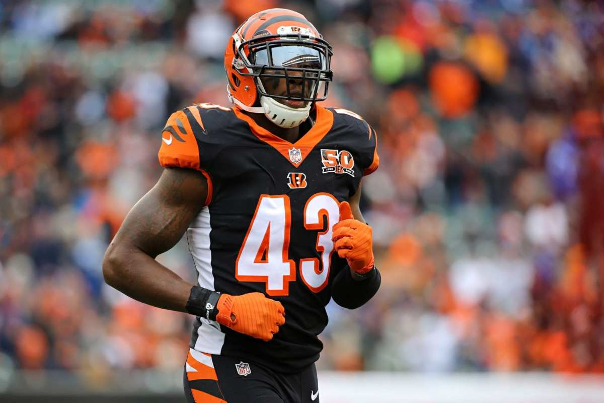 Bengals Releasing Starting S George Iloka