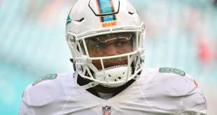 USATSI_9740651_168383805_lowres Dolphins WR Leonte Carroo To  Undergo 'Minor' Knee Surgery