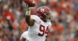 USATSI_10436630_168383805_lowres Alabama DL Da'Ron Payne Visiting Bengals Monday