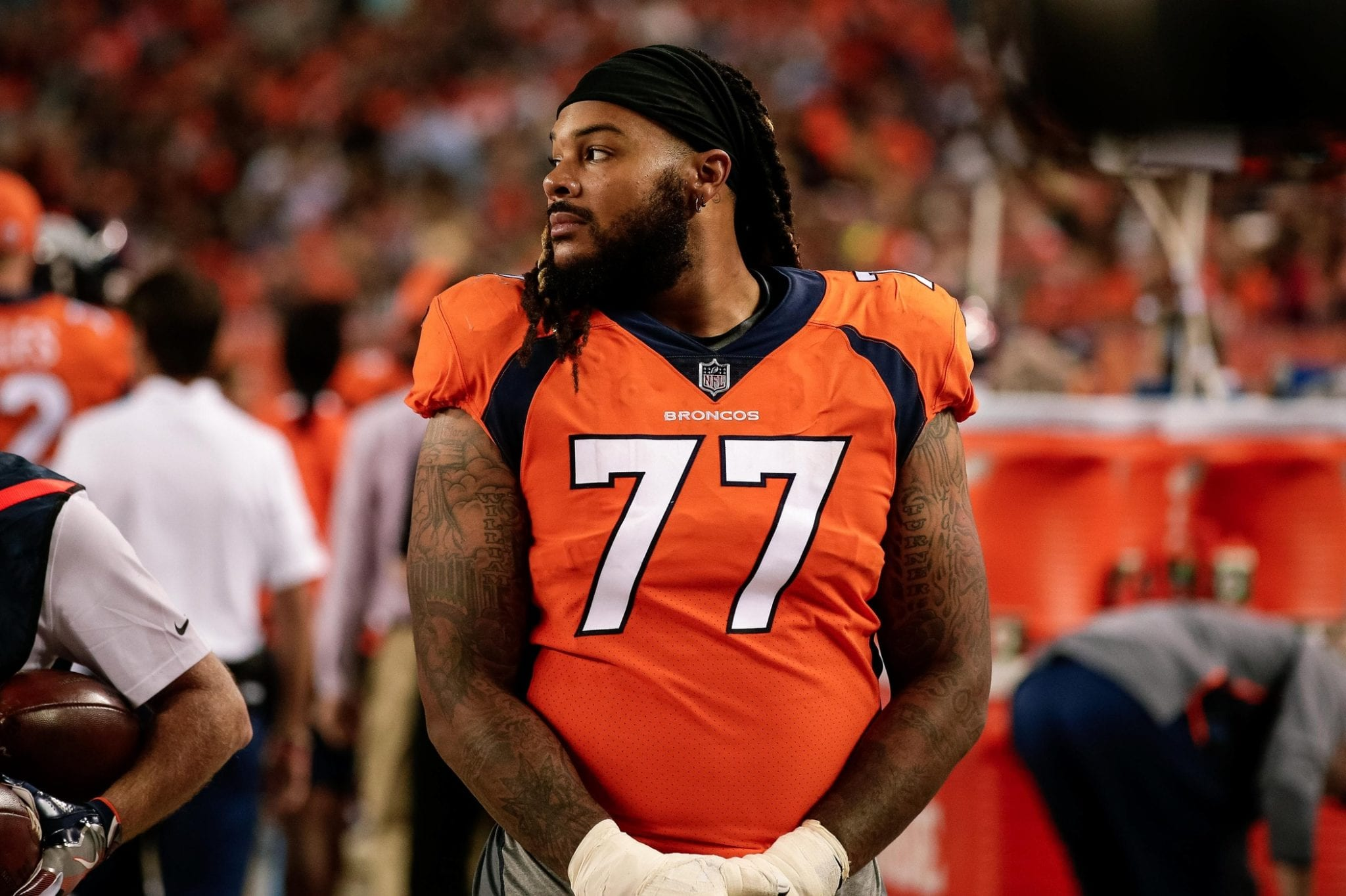 reputable site bf74c 6d7b4 Broncos Still Want To Re-Sign OL Billy Turner, Cardinals ...