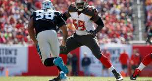USATSI_10390034_168383805_lowres Bucs RT Demar Dotson Undergoes Surgery For Torn Meniscus, Out For OTAs & Minicamp