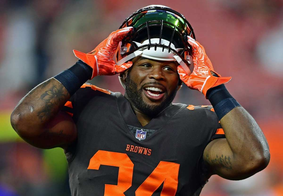 Browns Officially Trade RB Carlos Hyde To Jaguars For 2019 Fifth-Round Pick