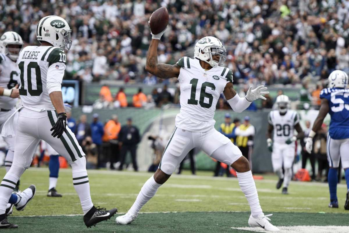 Jets Releasing WR Terrelle Pryor