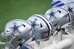 Cowboys helmets