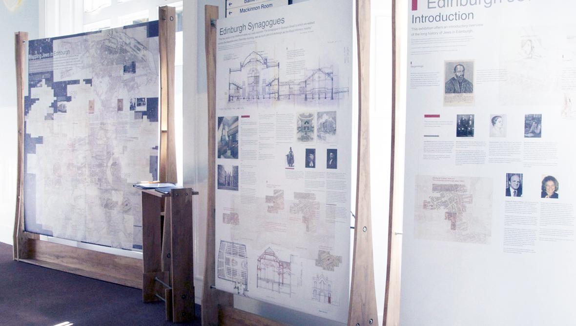 The 'Edinburgh Jews' exhibition