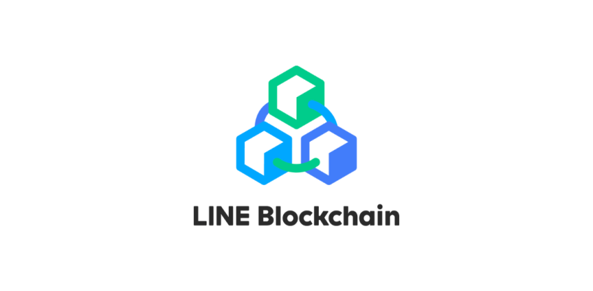 LINE Blockchainのロゴ