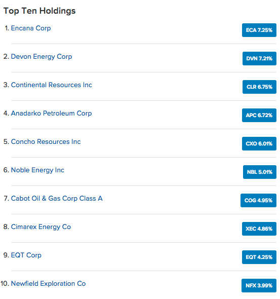 fcg top 10 holdings