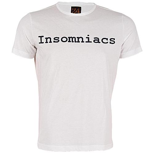 24 Insomniacs T-Shirt - White