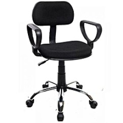 Swivel Chair Nigeria Lunchroom Chairs Canada Buy Desk Products Online In Jumia Secretary 039 S Office Black