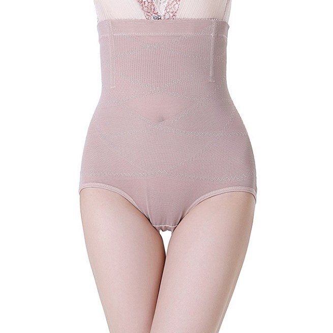 a91e0a85739 The panty girdle is just like the high waist briefs. It is made of spandex  and cotton. It extends to the under bust of the wearer.