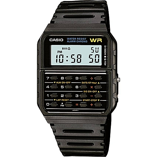 Casio CA53W-1 Men's Calculator Small Size Watch