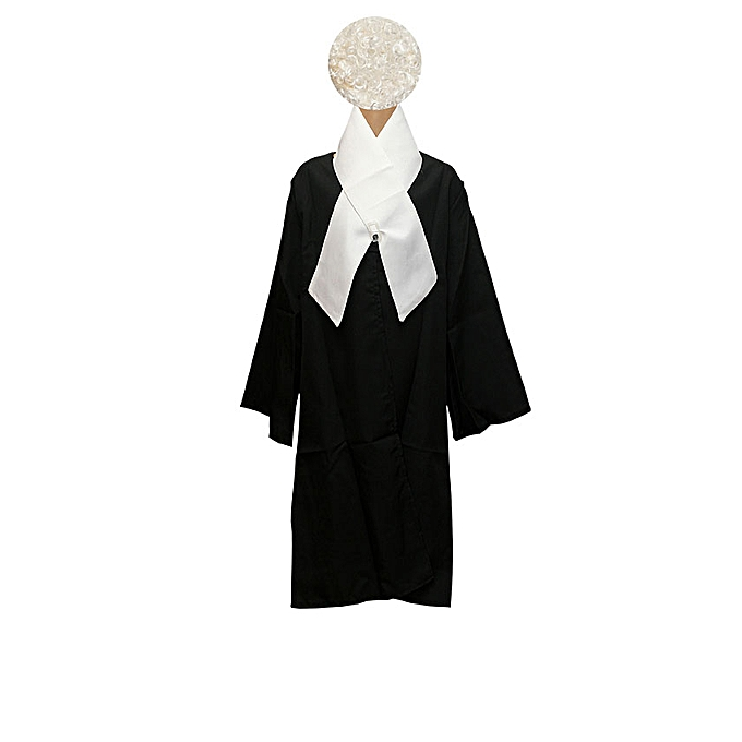 full lawyer costume with