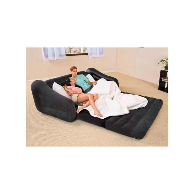 intex pull out sofa review brands international promethean inflatable double pull-out and pull-up chair ...