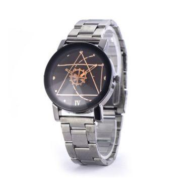 Compass Turntable Gear Pointer Wrist Watch