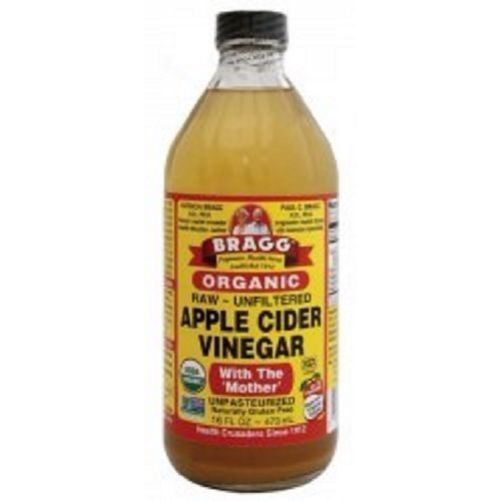Apple Cider Vinegar Organic (Raw/Unfiltered) With ' The Mother' - 473ml, 16oz