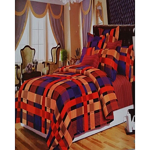 2 b real Block Detailed Duvet - Multicolour