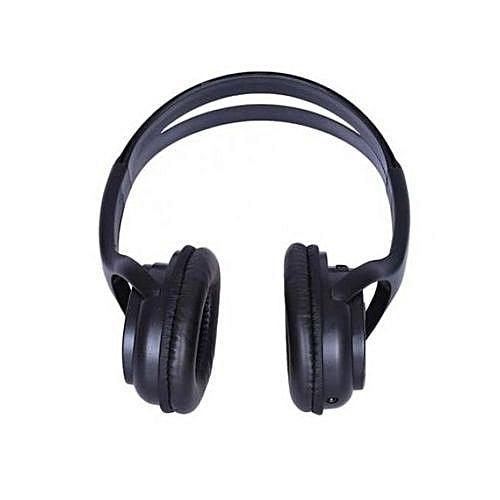 BAT Music Bluetooth Headset With FM Radio And SD Card Slot - Black