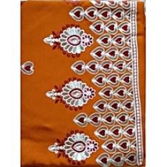 Velvet Sofa Fabric Online India Floral Sofas And Chairs Fabrics Buy Fashion Jumia Nigeria Indian Wear Plain Pattern Chiffon Tangerine Orange 5 Yards