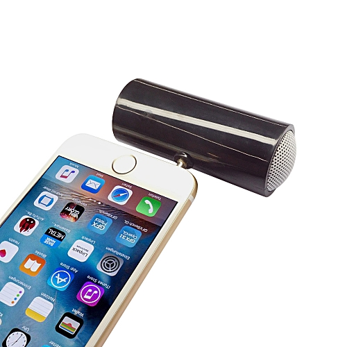 Generic 3.5mm Music Player Stereo Speaker For IPod IPhone6 Plus Note4 Cellphone BK